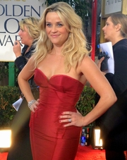 Author photo. Reese Witherspoo at the 69th Annual Golden Globes Awards 2012 [source: Jenn Deering Davis via Wikipedia]