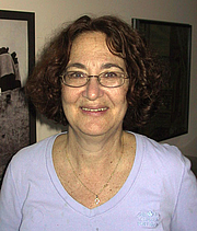Author photo. Judy Rebick (1945-    ) Photo by Grant Neufeld, June 13, 2005