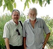 Author photo. Gunther Kunkel (right)
