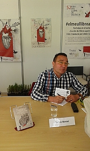 Author photo. Carlos Marzal in 2017.