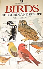 Birds of Britain and Europe by Neil Ardley
