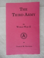 The Third Army in World War II by Charles M.…