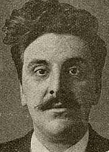 Author photo. Gustaaf van de Wall Perné - Persfoto, gepubliceerd in 1912