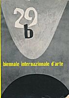 29. Esposizione Biennale Internazionale…