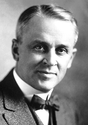 Author photo. Robert Andrews Millikan in 1923 [credit: Nobel Foundation]