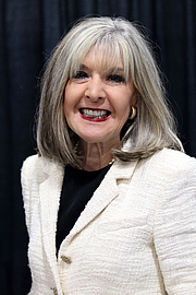 """Author photo. Hank Phillippi Ryan at the 2018 U.S. National Book Festival By Fuzheado - Own work, CC BY-SA 4.0, <a href=""""https://commons.wikimedia.org/w/index.php?curid=72307924"""" rel=""""nofollow"""" target=""""_top"""">https://commons.wikimedia.org/w/index.php?curid=72307924</a>"""