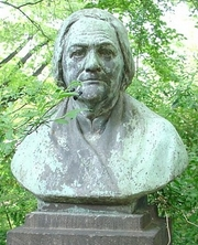 Author photo. Bust of Clara Zetkin, Dresden, Germany.  Photo by Daniel Weigelt / Wikimedia Commons.