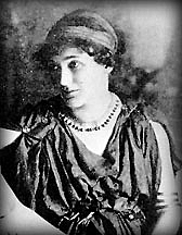 Author photo. Florence Farr as &quot;Aleel&quot; in Yeats' play <i>The Countess Cathleen</i>. Wikimedia Commons.