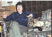 Author photo. Bjo Trimble at home, November 1981, photo by Alan Light