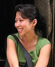 Author photo. Loung Ung, author and human-rights activist, by RogerK (talk). Original uploader was RogerK at en.wikipedia