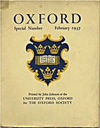 Oxford Special Number February 1937 by John…