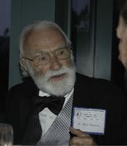 Author photo. Karl receiving Washington Academy of Sciences Award
