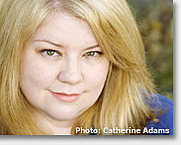 Author photo. Photo by Catherine Adams