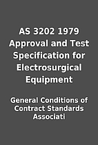 AS 3202 1979 Approval and Test Specification…