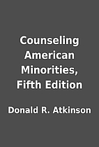 Counseling American Minorities, Fifth…
