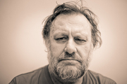 Author photo. Slavoj Zizek