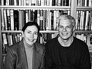 Author photo. Annalyn Swan and Peter W. Bernstein