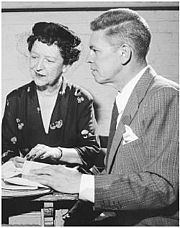 """Author photo. The image of American playwright husband and wife team Albert Hackett (1900–1995) and Frances Goodrich (1890-1984) By not known - This image has been downloaded from <a href=""""//www.filmreference.com/Writers-and-Production-Artists-Gi-Ha/Goodrich-Frances-and-Albert-Hackett.html"""" rel=""""nofollow"""" target=""""_top"""">http://www.filmreference.com/Writers-and-Production-Artists-Gi-Ha/Goodrich-Franc...</a>, Fair use, <a href=""""//en.wikipedia.org/w/index.php?curid=20740166"""" rel=""""nofollow"""" target=""""_top"""">https://en.wikipedia.org/w/index.php?curid=20740166</a>"""