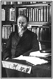 Author photo. Curtin in December 1905