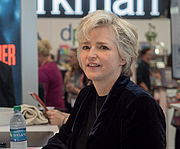 """Author photo. Karin Slaughter at BookExpo at the Javits Center in New York City, May 2019. By Rhododendrites - Own work, CC BY-SA 4.0, <a href=""""https://commons.wikimedia.org/w/index.php?curid=79387562"""" rel=""""nofollow"""" target=""""_top"""">https://commons.wikimedia.org/w/index.php?curid=79387562</a>"""