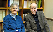 Author photo. Reinhold Loeffler and his wife Erika Friedl, author of 'Women of Deh Koh: Lives in a Persian Village' et al.