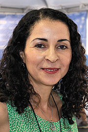 """Author photo. Author Laila Lalami at the 2015 Texas Book Festival. By Larry D. Moore, CC BY-SA 4.0, <a href=""""https://commons.wikimedia.org/w/index.php?curid=44626510"""" rel=""""nofollow"""" target=""""_top"""">https://commons.wikimedia.org/w/index.php?curid=44626510</a>"""
