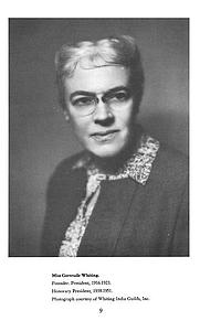 Author photo. Gertrude Whiting