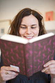 Author photo. Coralie Bickford-Smith//photo by Alistair Richardson