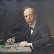 Author photo. Portrait by Frank Daniell, 1902.