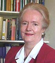 """Author photo. Rosalind K. Marshall, author of """"Elizabeth I"""" and """"John Knox"""""""