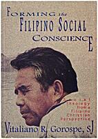 Forming the Filipino social conscience:…