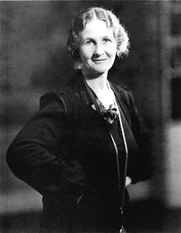 Author photo. Courtesy of the <a href=&quot;http://www.angelathirkellsociety.com&quot;>Angela Thirkell Society</a>