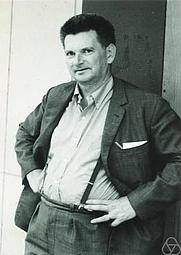 Author photo. Mathematician René Thom in Nice, 1970. By Konrad Jacobs, Erlangen