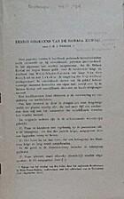 Eenige gegevens van de Bahasa Kowiai…