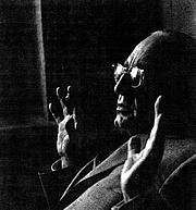 """Author photo. Giorgio de Santillana - Late 1960's, uncredited photo at <a href=""""http://platonism347.tripod.com/de_santillana.htm"""" rel=""""nofollow"""" target=""""_top"""">platonism347.tripod.com</a>"""