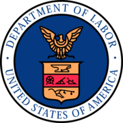 "Author photo. By U.S. Department of Labor - Converted from EPS version available here; there are EPS and PDF versions, Public Domain, <a href=""https://commons.wikimedia.org/w/index.php?curid=2564628"" rel=""nofollow"" target=""_top"">https://commons.wikimedia.org/w/index.php?curid=2564628</a>"