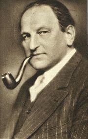 Author photo. Egon Friedell (1878-1938) — Austrian philosopher, historian, journalist, actor, cabaret performer and theatre critic
