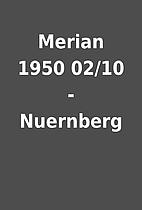 Merian 1950 02/10 - Nuernberg