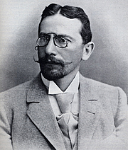 Author photo. Dr. Siegbert Tarrasch, German physician and chess grandmaster