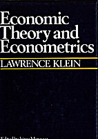 Economic Theory and Econometrics by Lawrence…