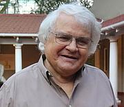 Author photo. Prof. Franco Frescura. Photo: Sanabelle Ebrahim, South African National Society