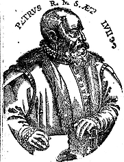 Author photo. Scanned from frontispiece to The Logike of the Moste Excellent Philosopher P. Ramus (London, 1574).