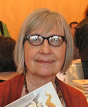 Author photo. Patricia Rusch Hyatt. Photo courtesy of Princeton Public Library.