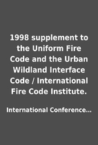 1998 supplement to the Uniform Fire Code and…