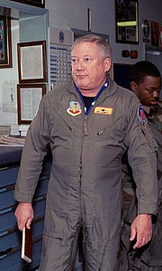 Author photo. At RAF Lakenheath, East Anglia, England, April 26, 2001 (USAF photo by TSgt. Paul R. Caron, Jr., DF-SD-03-03519)(cropped)