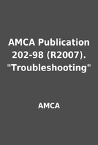 AMCA Publication 202-98 (R2007).…
