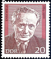 Author photo. Deutsche Post der DDR / Wikimedia Commons