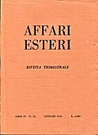 Affari Esteri by Hombert Bianchi