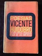 Poesias by Vicente Huidobro