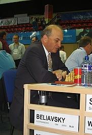 Author photo. Alexander Beliavsky Ukrainian - Slovene Chess Grandmaster